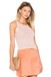 Ayni Asta Crochet Crop Top Orange
