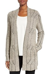 Nic Zoe Women's Cascading Cables Knit Cardigan