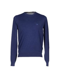 Nero Giardini Knitwear Jumpers Men Blue