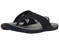Hush Puppies Wilton Grady Black Nubuck Men's Sandals