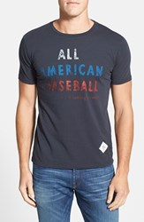 Men's 7Th Inning Stretch 'All American Baseball' Slim Fit T Shirt
