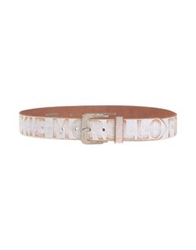 Frankie Morello Belts White