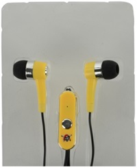 Mizco Pittsburgh Pirates Earbuds Team Color