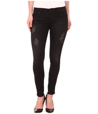 Level 99 Janice Ultra Skinny In Licorice Licorice Women's Jeans Multi