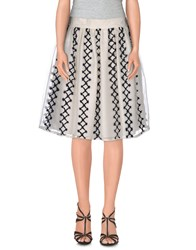Jupe By Jackie Skirts Knee Length Skirts Women White