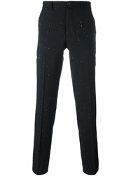 Paul Smith Ps By Cropped Tailored Trousers Black