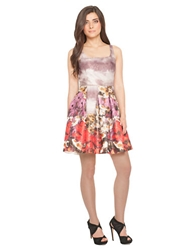 Debbie Shuchat Floral Fit And Flare Dress