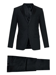 Givenchy Peak Lapel Single Breasted Wool Tuxedo