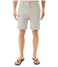 Vissla No See Ums 19 Twill Chino Walkshorts Surplus Men's Shorts Green