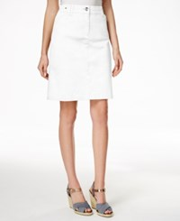 Charter Club A Line Skort Only At Macy's Bright White