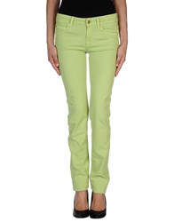 7 For All Mankind Trousers Casual Trousers Women Acid Green