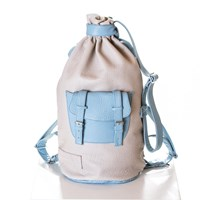 Christian Cathor And Co London Piper Ray Backpack Sand And Placid Blue