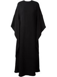 Valentino Kaftan Evening Dress Black