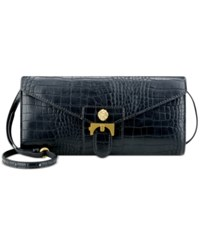 Anne Klein Christy Crossbody Clutch Black