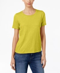Eileen Fisher Organic Cotton T Shirt Fern