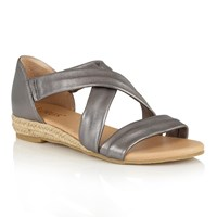 Lotus Arielle Strappy Sandals Pewter