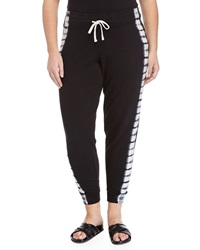 Marc Ny Performance Tie Dye Slim Leg Sweatpants Black