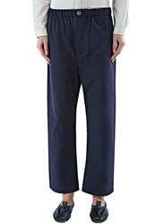Marvielab High Waisted Straight Leg Pants Blue