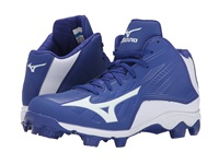 Mizuno 9 Spike Advanced Franchise 8 Mid Royal White Men's Cleated Shoes Blue