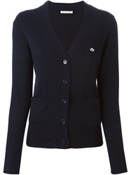 See By Chloe V Neck Cardigan Blue