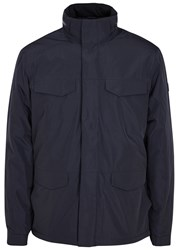 Nn.07 Paul Navy Waterproof Shell Jacket