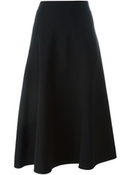 Marni Flared Midi Skirt Black