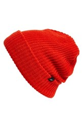 Echo Women's 'Fisherman' Beanie Orange Persimmon