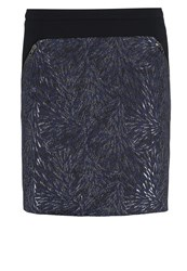 Naf Naf Elibiz Mini Skirt Marine Dark Blue