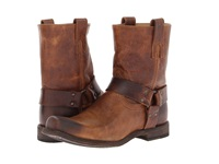 Frye Smith Harness Tan Antique Pull Up Men's Pull On Boots Bronze