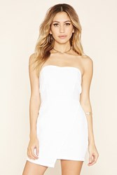 Forever 21 Quilted Asymmetrical Dress