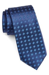 Calibrate Men's Geometric Silk Tie