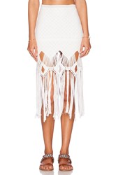 Lisa Maree Love With A Tail Skirt White