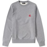 Paul Smith Pill Logo Crew Sweat Grey