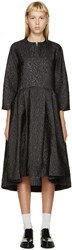Studio Nicholson Black Textured Effie Dress