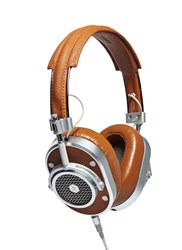 Music Master And Dynamic Mh40 Over Ear Headphones Brown
