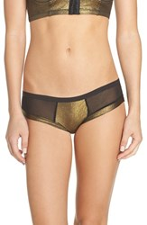Honeydew Intimates Women's Candy Hipster Panty Gold Foil