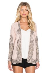 Hoss Intropia Floral Swing Blazer Blush