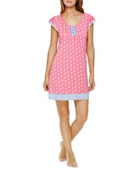 Ellen Tracy Plus Chic In Chelsea Chemise Pink
