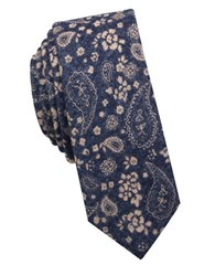 Original Penguin Woodland Pine Tie Navy