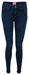Superdry Standard Rise Jeggings Navy