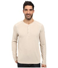The North Face Long Sleeve Crag Henley Tnf Oatmeal Heather Men's Clothing Beige