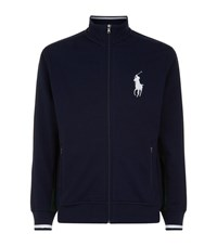 Polo Ralph Lauren Wimbledon Full Zip Ball Boy Sweater Male Navy