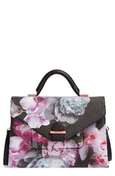 Ted Baker London Ethereal Posie Faux Leather Satchel