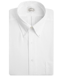 Eagle Big And Tall Non Iron Solid Pinpoint Dress Shirt