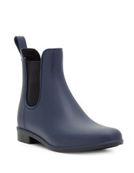 Sam Edelman Tinsley Rubber Ankle Boots Navy Blue