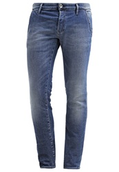 Gas Jeans Gas New Albert Slim Fit Jeans Blue Denim
