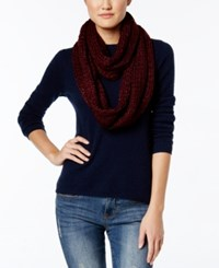 Bcbgeneration Thick And Thin Infinity Loop Scarf A Macy's Exclusive Style Wineberry
