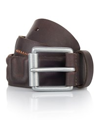 Superdry Super Distressed Belt Brown