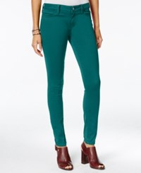 Tommy Hilfiger Sateen Colored Wash Jeggings Only At Macy's Everglade