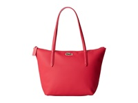 Lacoste L.12.12 Concept Medium Small Shopping Bag Petunia Pink Tote Handbags